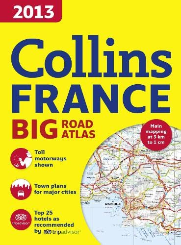 9780007487684: 2013 Collins Road Atlas France