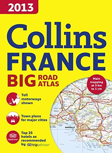 9780007487684: 2013 Collins Road Atlas France