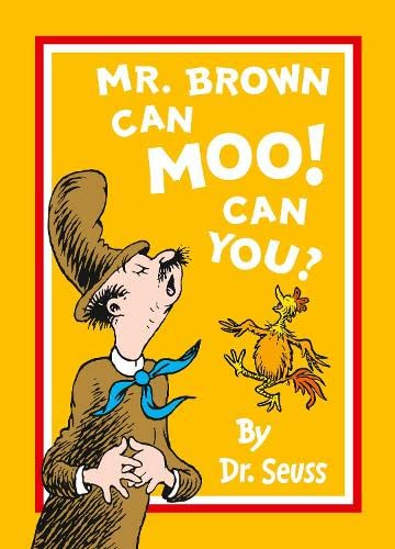 9780007487745: Mr Brown Can Moo! Can You?