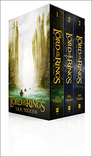 The Lord of the Rings Boxed Set: J.R.R. TOLKIEN
