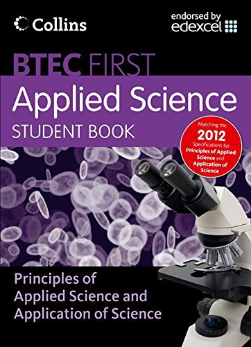9780007488421: Student Book (New Btec Applied Science)