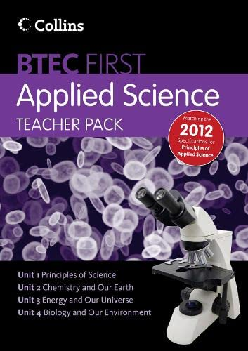 9780007488704: New BTEC Applied Science - Teacher Pack 1: Principles of Applied Science