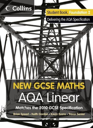 9780007489312: New GCSE Maths ? AQA Linear Foundation 2 Student Book
