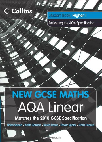 9780007489329: New GCSE Maths - AQA Linear Higher 1 Student Book