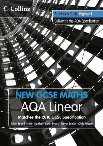 9780007489367: New GCSE Maths - AQA Linear Higher 1 Teacher Pack