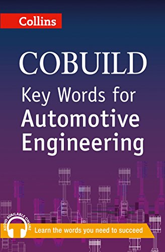 9780007489800: Key Words for Automotive Engineering (Collins Cobuild)