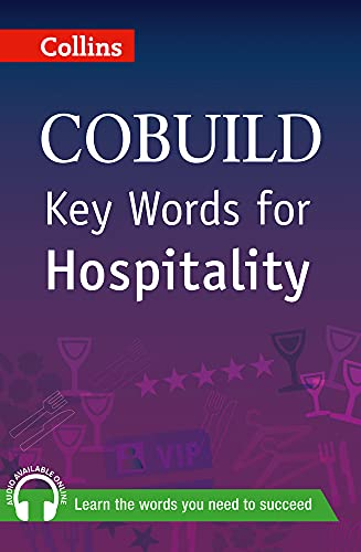 9780007489817: Collins Cobuild Key Words for Hospitality