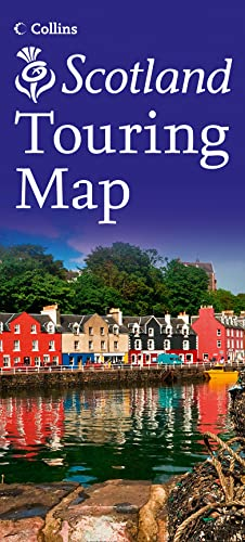 9780007490516: Visit Scotland Touring Map