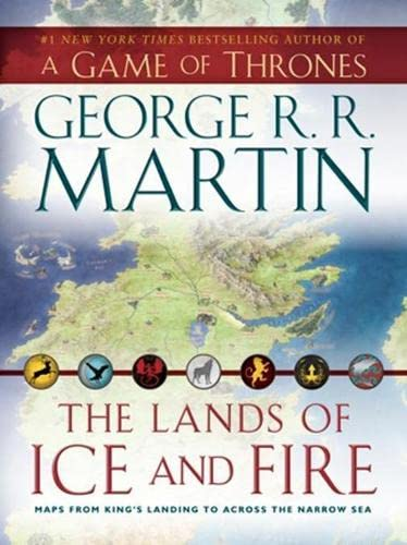 9780007490653: The Lands of Ice and Fire (Song of Ice & Fire)