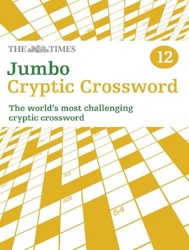 9780007491698: The Times Jumbo Cryptic Crossword Book 12 (Crosswords)