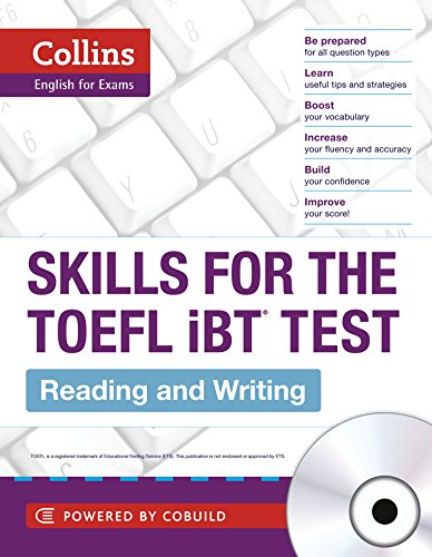 9780007492145: Collins Skills for the TOEFL iBT Test: Reading and Writing