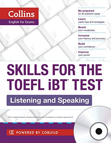 9780007492152: Collins Skills for the TOEFL iBT Test: Listening and Speaking