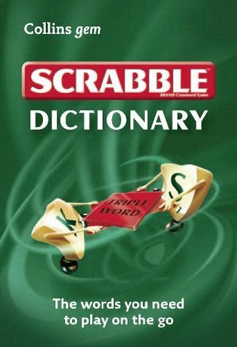 9780007492763: Scrabble Dictionary (Collins GEM)