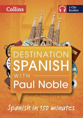 9780007492862: Destination Spanish with Paul Noble