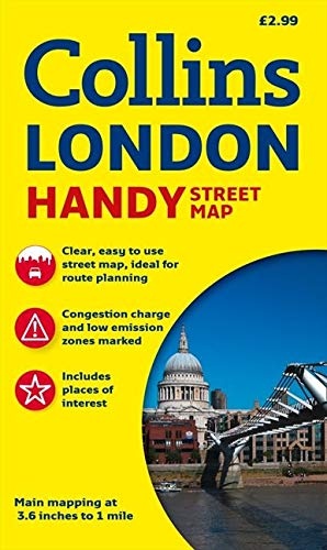 9780007493135: Collins London Handy Street Map: 2013 (Collins Travel Guides)