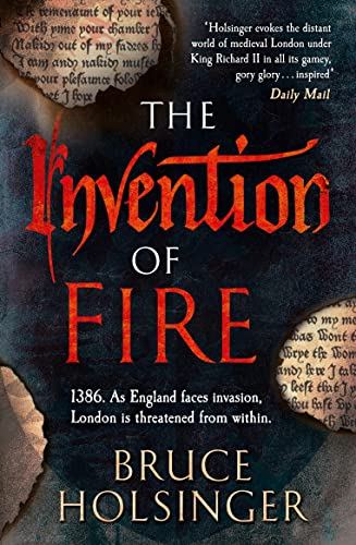 9780007493364: The Invention of Fire (John Gower 2)