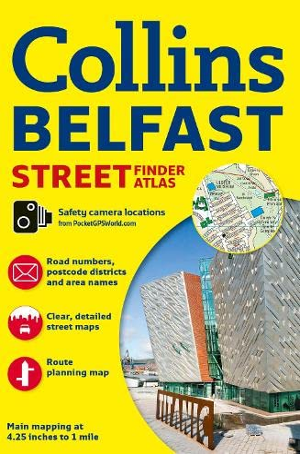 9780007493784: Belfast Streetfinder Colour Atlas (Collins Travel Guides)