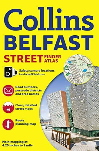9780007493784: Collins Belfast Street Finder Atlas (Collins Travel Guides)