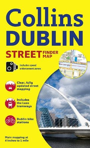 9780007493791: Collins Dublin Streetfinder Colour Map (Collins Travel Guides)
