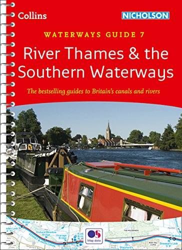 9780007493814: River Thames and Southern Waterways No. 7 (Collins Nicholson Waterways Guides)