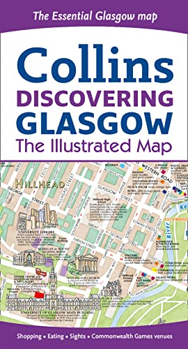 9780007493821: Discovering Glasgow: The Illustrated Map Collins (Collins Travel Guides)