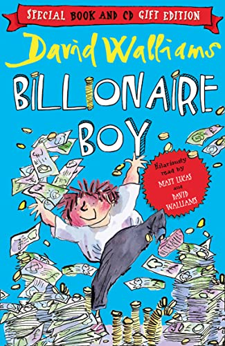 9780007493975: Billionaire Boy (Book and CD Pack)