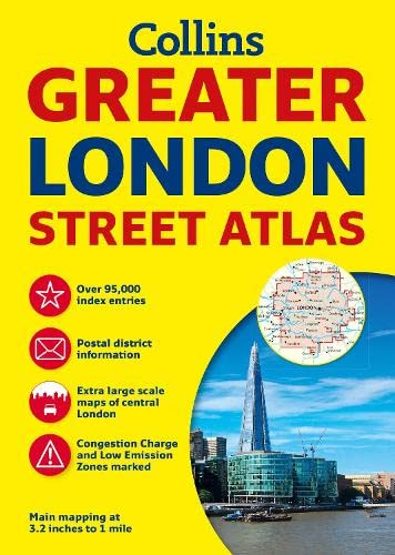 9780007494460: Collins Greater London Street Atlas: Comprehensive Edition