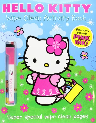 9780007494750: Hello Kitty - Wipe Clean Activity Book