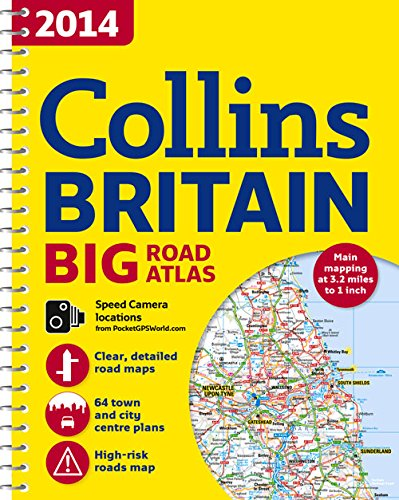9780007497089: 2014 Collins Big Road Atlas Britain
