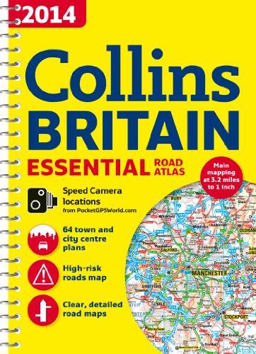 9780007497096: 2014 Collins Essential Road Atlas Britain