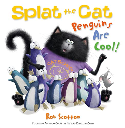 9780007498192: Splat the Cat - Penguins are Cool!