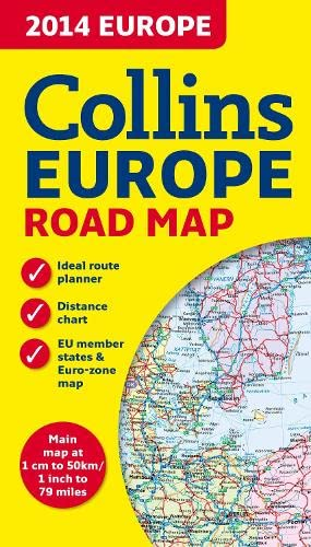 9780007498239: 2014 Collins Map of Europe (Road Map)