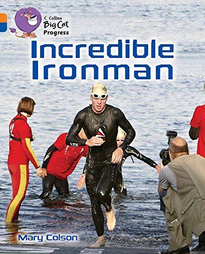 9780007498390: Collins Big Cat Progress - Incredible Iron Man: Band 06 Orange/Band 16 Sapphire