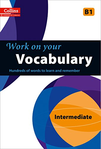 9780007499649: Vocabulary: B1 (Collins Work on Your...)