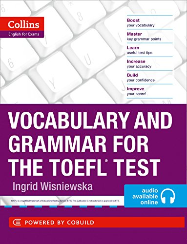 9780007499663: Vocabulary and Grammar for the TOEFL Test (Collins English for the TOEFL Test)