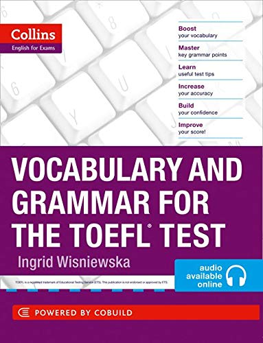 9780007499663: Collins Vocabulary and Grammar for the TOEFL Test (Toefl Book & MP3 Audio CD)