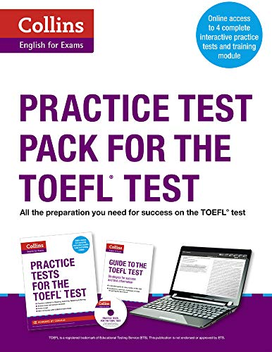 9780007499700: Practice Test Pack for the TOEFL Test (Collins English for the TOEFL Test ) (Collins English for Exams)