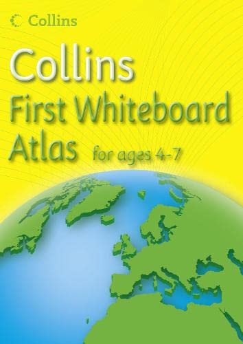 9780007500369: Collins First Whiteboard Atlas (Collins Primary Atlases)