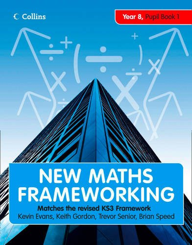 9780007500635: Year 8 Book 1: Collins Online Learning 1 Year Licence (New Maths Frameworking)