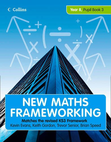 9780007500659: Year 8 Book 3: Collins Online Learning 1 Year Licence (New Maths Frameworking)