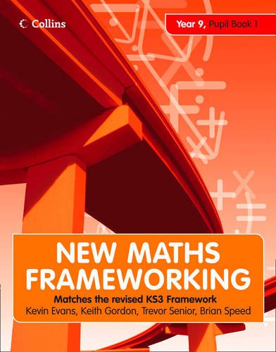 9780007500666: Year 9 Book 1: Collins Online Learning 1 Year Licence (New Maths Frameworking)