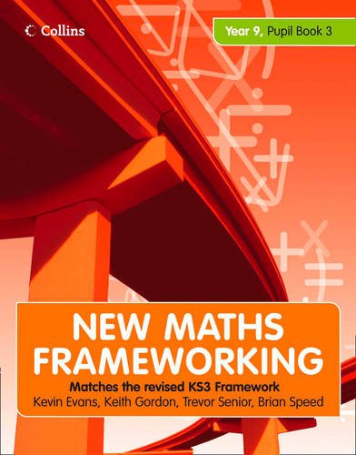 9780007500680: Year 9 Book 3: Collins Online Learning 1 Year Licence (New Maths Frameworking)