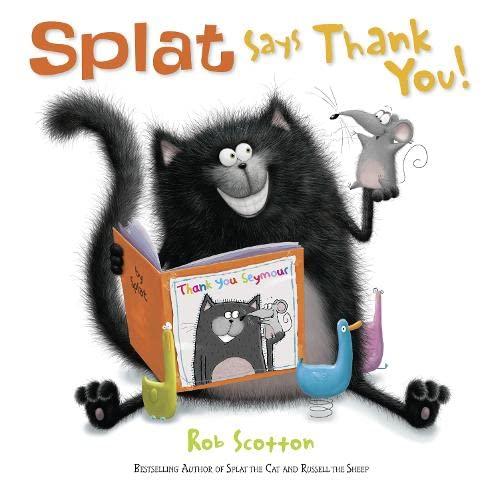 9780007500932: Splat Says Thank You!