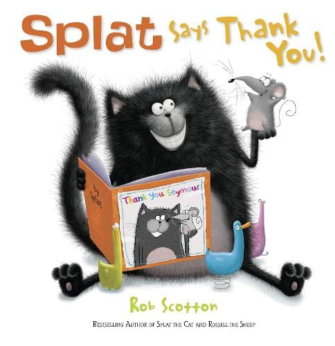 9780007500932: Splat Says Thank You!