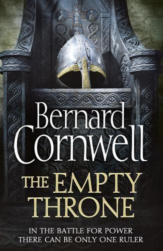 THE EMPTY THRONE - BOOK 8 OF THE LAST KINGDOM SERIES - SIGNED FIRST EDITION FIRST PRINTING