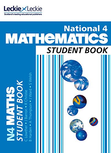 9780007504619: Student Book - National 4 Mathematics Student Book