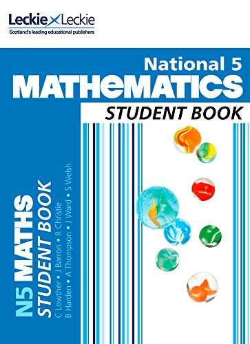 9780007504626: National 5 Mathematics Student Book