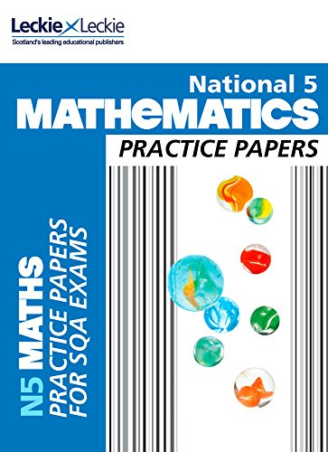 9780007504718: National 5 Mathematics Practice Exam Papers (Practice Papers for SQA Exams)