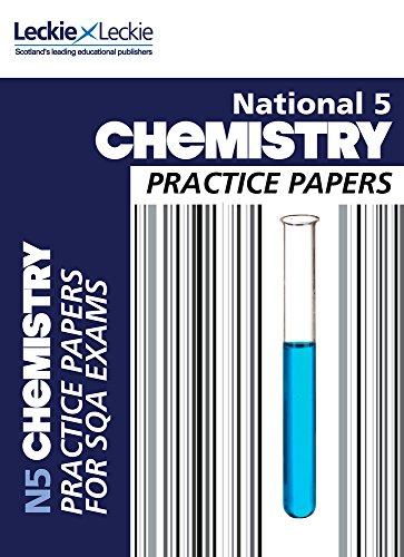 9780007504732: National 5 Chemistry Practice Exam Papers (Practice Papers for SQA Exams)
