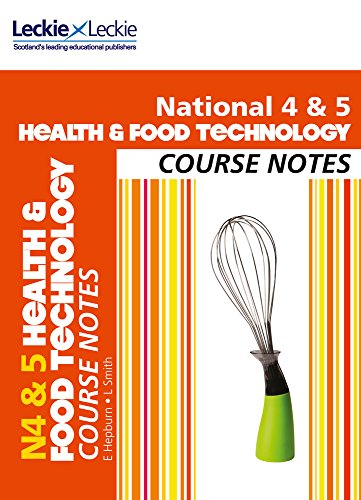 9780007504763: Course Notes - National 4/5 Health and Food Technology Course Notes